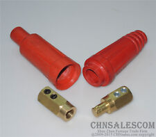 160A-250A Welding Cable Rapid Connector Red