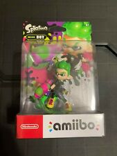 Inkling Boy Neon Green Splatoon Nintendo amiibo - Sealed NIB