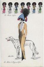 XAVIER SAGER - La Mode d'Hier - La Mode d'Aujourd'hui - KF 4495 Robe Pochoir #5