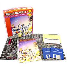 Megatraveller 1: la conspiración zhodani para MS-dos por Paragon, CAJA GRANDE, 1990