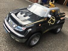 Action man Raid 4x4 vehicle with mean looking dog car
