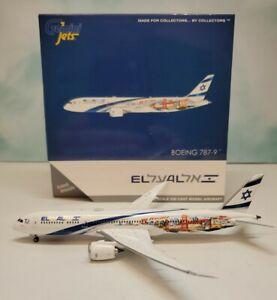 Gemini Jets 1:400 El Al 787-9 4X-EDD Haifa San Francisco Boeing B787-9 GJELY1882
