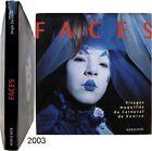 Faces visages maquillés carnaval de Venise 2003 photographie Zaccaron masque