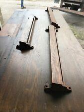 Mar Antique Oak Hymnal Or Pamphlet Holder 5.5 X 27 5/8 35 Av Price Each