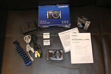 Olympus Stylus 9000 12MP 10x Optical Wide Zoom Digital Camera & Accessories