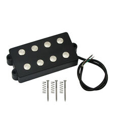 New One Black 4-String MM Bass Pickup Double Coil Pickup for Musicman Bass