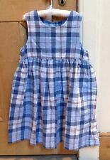 Boden Dress, pinafore 3-4y, Blue Check, Excellent Condition!