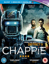 Chappie Blu-ray Bonus Disc UV Aj213