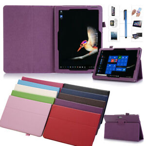 For Microsoft Surface RT Pro 3 4 Go 10 Tablet Folio PU Leather Case Stand Cover