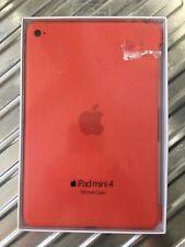 Genuine Apple iPad Mini 4 Silicone Case In Orange New In Box