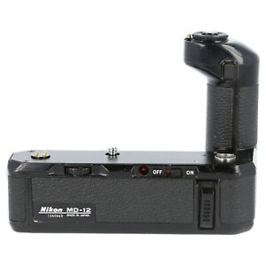 Nikon MD-12 Motor Drive Winder Grip for FM FE FM2 FE2 ( Spares or Repairs)