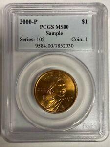 2000-P Sacagawea PCGS Sample Slab