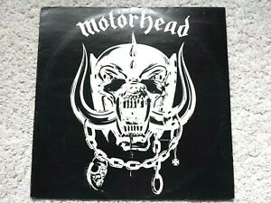 MOTORHEAD - MOTORHEAD (1977)  - CWK 3008 - A-1U B-1U VINYL LP (TESTED EX+)