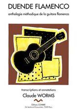Partition pour guitare - Claude Worms - Duende Flamenco - Volume 6A