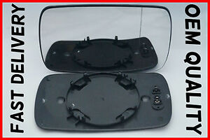 BMW 5 SERIES E39 1995-2003 DOOR  MIRROR GLASS WIDE ANGLE HEATED DRIVER'S SIDE