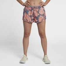 NEW-Nike Womens Modern Tempo Shorts , Running Gym- Fully Lined Size MEDIUM