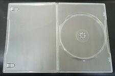 5 Genuine Clear Amaray Single DVD Cases