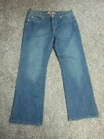 "Bill Blass Denim Jeans Size 12 Bootcut Womens Circular Fit Stretch 29"" inseam"