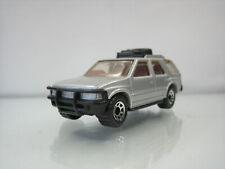 Diecast Matchbox Vauxhall Frontera 1994 in Grey Good Condition