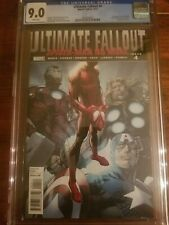 Ultimate Fallout #4 1st Appearance Miles Morales CGC 9.0 White Pages New Slab