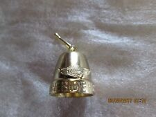 """HARLEY DAVIDSON """" THE RIDE HOME """" GOLD colored BELL"""