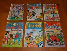 LOT ARCHIE + JUGHEAD COMICS LOT FOR COLLEGE BOOKS / TUITION - READ BUT LOVED