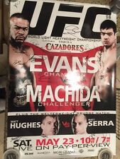 UFC 98 27x39 Poster Signed by Entire Fight Card Hughes, Machida  LTD 105/125