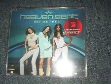 Heaven Sent Set me free CD Single Pop Musik