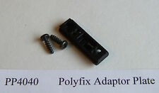 Caravan Window Stay. Polyfix Adaptor Plate. PP4040