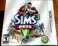 3DS Sims 3: Pets, New