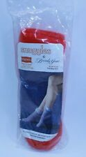 Vintage Hanes Orlon Acrylic Red Cuff Booties Snuggles Beverly Jane Sealed NOS