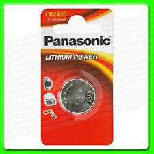 Panasonic CR2430 3v Lithium Coin Cell Battery