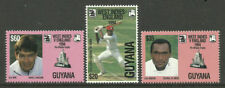 Mint Never Hinged/MNH Guyanese Sports Postal Stamps