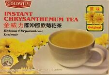 GOLDWILY INSTANT HONEY CHRYSANTHEMUM HOT COLD  TEA DRINK BOISSON CHRYSANTHEME