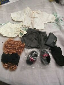 Vintage Tender Heart Treasured Toggery Bear Clothing - all items shown