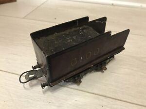 Vintage Pre War Bing Bassett Lowke Or Similar No2 Locomotive Tender LMS