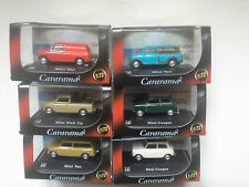 6 x  MINI COOPER   1:72 CARARAMA. NEW IN BOX.