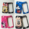 Cute Cartoon Disney Minnie mickey fullbody case cover for iphone 8plus 6S 7 plus