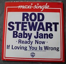 Rod Stewart, baby jane / ready now / if loving you is wrong, Maxi Vinyl