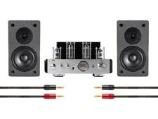 Monoprice Stereo Tube Amp System with Bluetooth and Speakers