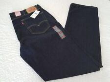 78a7f03b714 Levis Mens 514 Big & Tall Regular Fit Straight Leg Stretch Denim Blue Jeans  38 36
