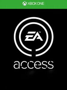 EA Access 12 mois Membership xbox one key code DIGITAL  Works Worldwide /monde