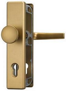 ABUS HLN 414 Schutzbeschlag F4 Bronze farbig 92/10 Auß.Knauf Sicherheitsbeschlag