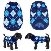 SMALL DOG Christmas Dog Sweater Xmas Winter Holiday knit