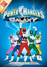 Power Rangers: Lost Galaxy Complete Series (2015, DVD NIEUW)5 DISC SET