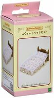 Sylvanian Families Furniture Doll Accessory Sweet Bed Set Ka-502 F/S From Japan