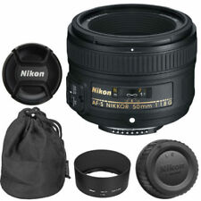 NEW NIKON 50mm f/1.8G AF-S NIKKOR LENS for NIKON DSLR D7000, D7100, D7200, D7500