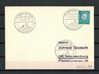 """Berlin, MiNr. BRD 302 SST """"Grosstausch Berlin SW 61"""" 30.06.1960"""