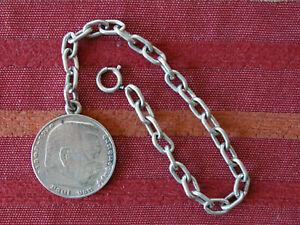 5 Reichsmark 1935 D mit 835 Silberkette