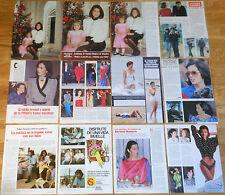 CARMEN ROMERO colección prensa 1980s/00s Felipe Gonzalez PSOE fotos bañador